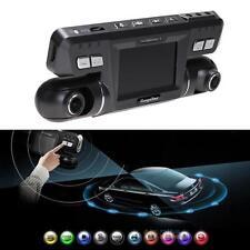 360° HD 1080P Dual Lens Car DVR Camera Recorder Dash Cam Night Vision G-sensor