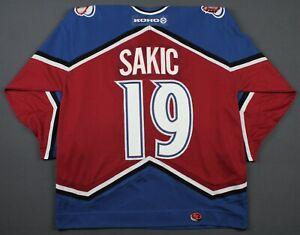 Joe Sakic Colorado Avalanche Vintage Koho NHL Sewn Jersey Size XL