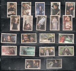 USA Used Stamps 2013 Harry Potter set Fine