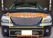 For 04 05 06 Chrysler Pacifica Billet Grille Combo upper & bumper insert