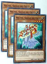Set 3 Carte : MELTIEL SAGGIO DEL CIELO  SDLS-IT017 Comune in Italiano YUGIOH