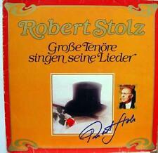 Robert Stolz - Unvergessene Tenore Singen 2 LP VG+ 30 613 4 Vinyl Record
