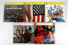 SLY & THE FAMILY STONE~ JAPAN MINI LP CD, LOT OF 5 ALBUMS, ORIGINAL, RARE, OOP