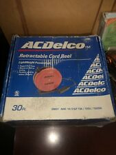 AC DELCO Retractable Electric Extension Cord Reel- 30-Ft