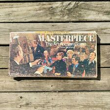 Vintage Parker Brothers MASTERPIECE The Art Auction Board Game 1970