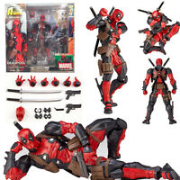 Marvel Legends X-men No.001 DEADPOOL Action Figure Revoltech Kaiyodo Version Toy