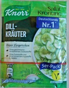 Knorr Salatkrönung Dill-Kräuter (4,67/100g) 5 X 9g