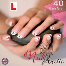 40 x Nail Art Water Transfers Stickers Wraps Decals Hen Party Learner