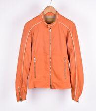 Prada Motorcycle Style Men Light Jacket Coat Size EU50 UK40