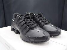 079e2d70d6a Nike Shox NZ EU Triple Black 501524-091 Men s size 10 US