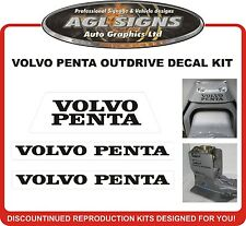 VOLVO PENTA STERN DRIVE Outdrive Decal Kit  reproductions