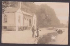 Postcard Askern Spa near Doncaster Yorkshire posted 1907 RP by Glen of Leeds