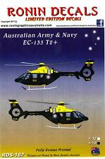 Ronin Decals 1/72 EUROCOPTER EC-135 T2+ Australian Air Force and Navy