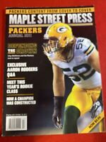 Green Bay Packers Maple Street Press Aaron Rodgers Clay Matthews Annual 2011
