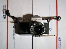 NIKKORMAT VINTAGE FILM CAMERA FT 35 mm SLR W/NIKKOR-H AUTO 1.2 f=50mm LENS
