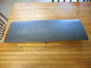 1969 1970 FORD MUSTANG & SHELBY FASTBACK FOLD DOWN REAR SEAT TRAP DOOR NICE USED