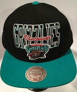 Mitchell&Ness Vancouver Grizzlies Snapback Hat