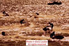 RARE, 1984 Vintage 11x14 Original Photo: Pro Jet Ski Closed Course IJSBA Racing