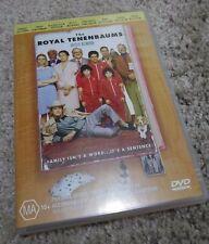 The Royal Tenenbaums (2001) Excellent Condition Region 4 DVD