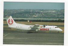 WINGS De Havilland DHC-8-301 Aviation Postcard, A654