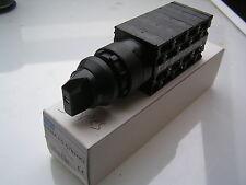 IMO CS20A-FO-ST53+K2 Multi 5 Step Switch, 3 Pole (no Off) 600VAC 20A MBB015d
