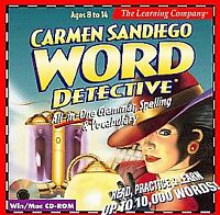 Carmen Sandiego: Word Detective (PC) Vintage 1999 Computer Game Complete In Box