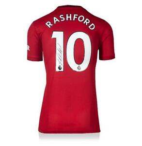 Marcus Rashford Signed Manchester United 2019-20 Home Shirt Autograph Jersey