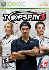 Top Spin 3 (2008) Brand New Factory Sealed USA Microsoft Xbox 360 X360 Game