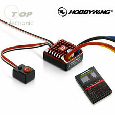 Hobbywing QuicRun Brushed Waterproof 80A/60A ESC Speed Controller RC Crawler