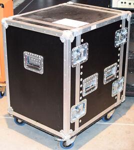 14 HE Double Door Rack - EV Electro Voice X-Line Amp - Vorführung