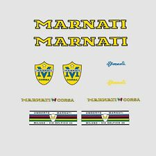 Marnati Bicycle Decals, Transfers, Stickers - Yellow n.105