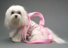 Pink pet small dog carrier harness sling puppy purse M, XXL
