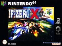 N64 F-Zero X  / Zustand auswählbar
