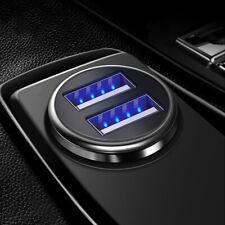 12V Fast Charger Car Charger for Phone Dual USB Adapter Cigarette Lighter Socket