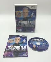 Jeopardy (Nintendo Wii, 2010) America's Favorite Quiz Show CIB; Tested & Working