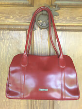 DESMO Italian Leather RED Handbag