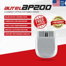 AUTEL AP200 Bluetooth BT Full System OBD2 Scanner Diagnostic Tool EPB TPMS IMMO