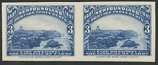 NEW FOUNDLAND #63P4 PLATE PROOF ON CARD PAIR BS5102