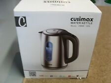 Stainless Steel Cusimax Water Kettle Model CMWK - 150S New In Box