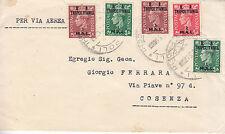 1859) OCCUPAZIONE INGLESE BA TRIPOLITANIA 3m+3m+ 1m +1m+2m DA TRIPOLI A COSENZA