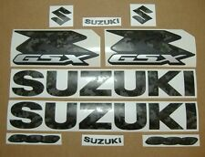 GSXR 600 army camouflage decals stickers graphics kit set military green k4 k5