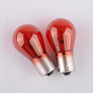 2PCS PHILIPS 12088 PR21W BAW15s 12V21W Red Light For New Elysee New Fox SAAB