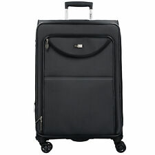 Stratic Pure L 4-Rollen Trolley Koffer 78 cm (black)