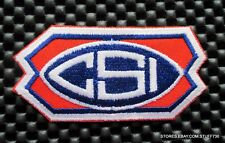 """CSI PATCH SEW OR IRON ON COMPRESSOR SYSTEMS NATURAL GAS 3 1/2"""" x 1 3/4"""""""