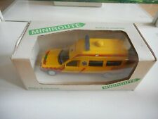 Miniroute Mercedes 250 Ambulance in Yellow on 1:43 in Box