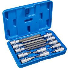 """Set di chiavi a bussola 12 pz esagono cavo 1/2"""" bussole esagonali lungo / corto"""