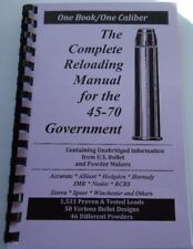45-70 Government The Complete Reloading Manual Load Books Latest Version