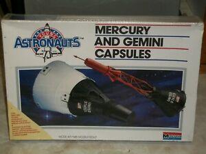 Monogram 1/48 Scale Mercury and Gemini Capsules - Factory Sealed