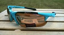 Maxx HD Sunglasses Storm golf driving lens brown high definition turquoise blue