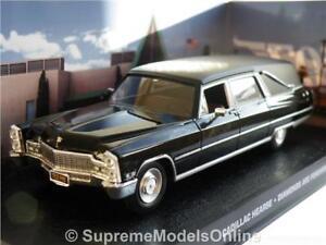 CADILLAC HEARSE FUNERAL MODEL CAR 1/43RD SCALE AMERICAN USA TYPE BLACK Y0675J^*^